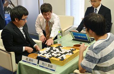 ネット棋聖戦 : 囲碁将棋 : YOMIURI ONLINE(読売新聞) プロ棋士が出場する第4